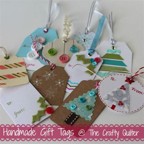 Handmade Gift Tags - once a month handmade gift tags more the