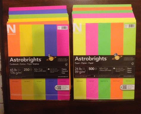 colored card stock paper neenah paper astrobrights colored paper and card stock
