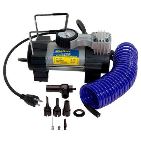 bon aire goodyear 120 volt multi purpose inflator i8000 the home depot