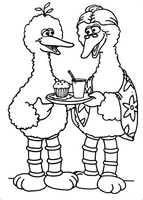 coloring book pages sesame free printable sesame coloring pages for