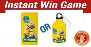 play the minions love bananas instant win julie s freebies - Minions Love Bananas Instant Win