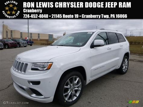 2016 jeep grand cherokee white 2016 bright white jeep grand cherokee summit 4x4