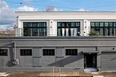 industrial style home energy efficinet portland home with vintage industrial style