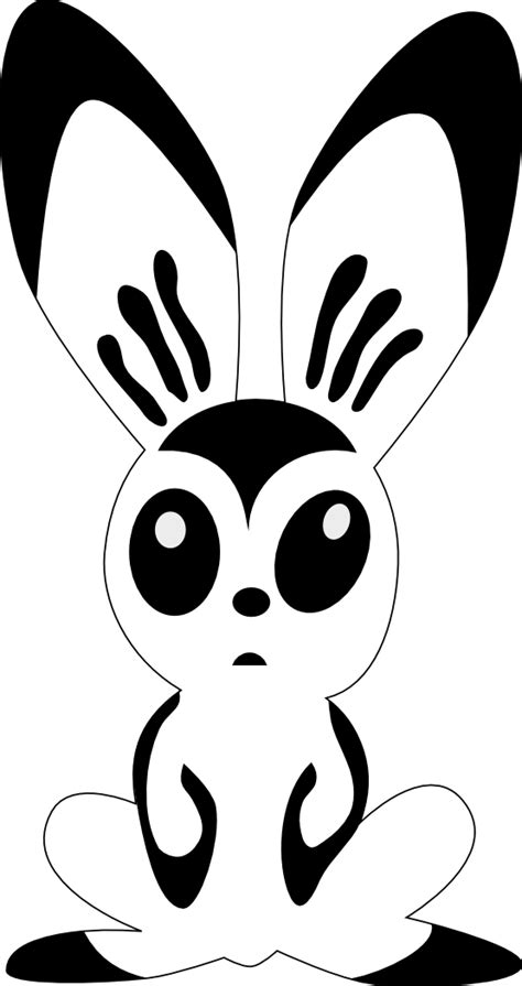 coloring book all rabbit picture cliparts co