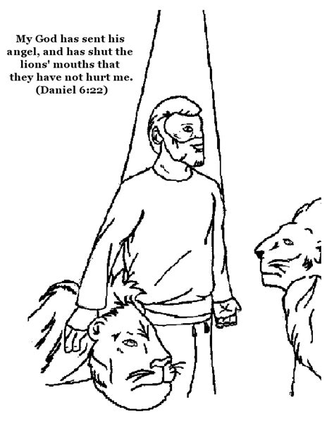 Daniel 6 Coloring Pages by Free Coloring Pages Of Daniel In The Lions Den