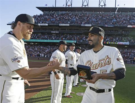 San Francisco Records Divorce Giants Unveil 2014 World Series Rings Sfgate