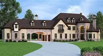 large estate house plans european estate home with porte cochere 12307jl