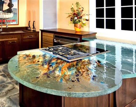 How To Make Resin Countertops by Paint Embedded Resin Countertops