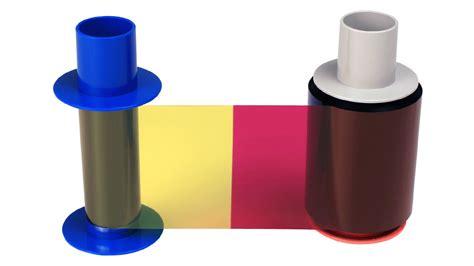 Ribbon Color Dtc4500e fargo dtc5500lmx dtc4500e eco ymcko ribbon with resin