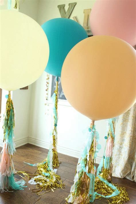 Balloon Columns Diy » Home Design 2017