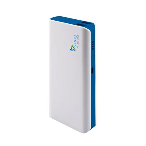 Power Bank Bcare 11000 Mah syska power bank x110 white blue 11000 mah li ion power