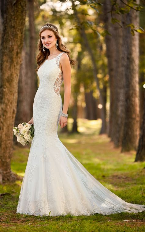 Wedding Dress by Backless Wedding Dresses Classic Backless Wedding Dress