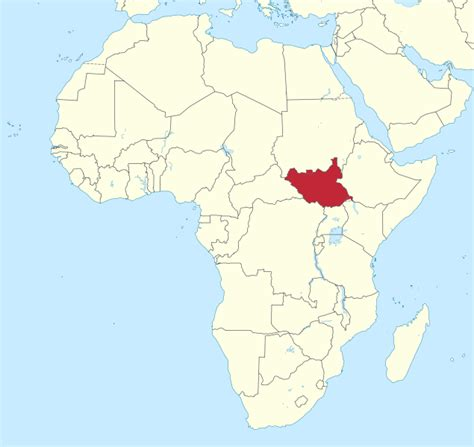 where is sudan on the world map what you may not about south sudan themarginalized