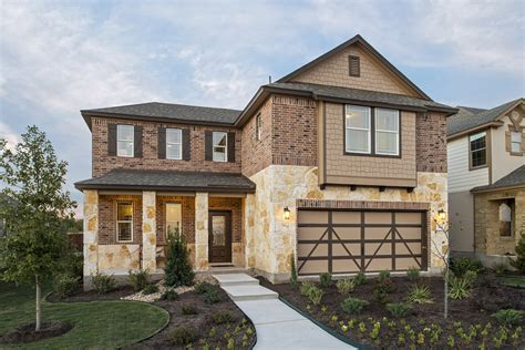 plans for new homes plan a 2502 modeled at la conterra in georgetown tx kb home