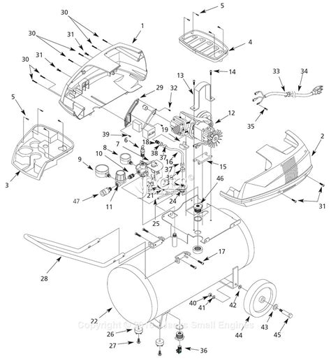 campbell hausfeld fp parts diagram  air