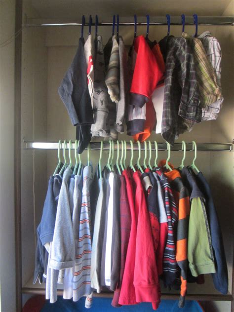 clothes closet kid s space 1 2 closet 1 2 play area neaten your nest