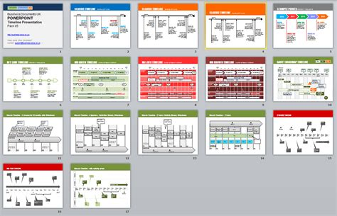 Powerpoint Timeline Presentation 15 Top Slides Best Project Presentation Ppt