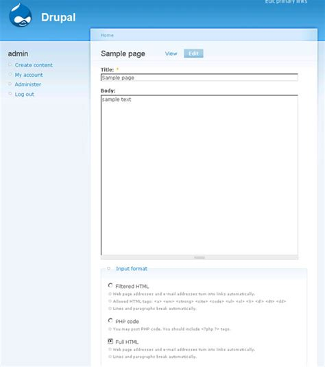 format html file input user can t edit a node drupal troubleshooting befused