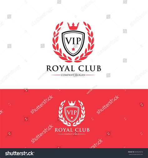 Vip Club Logo Royal Logo Crests Logo Vector Logo Template 365825510 Shutterstock Nightclub Logo Template