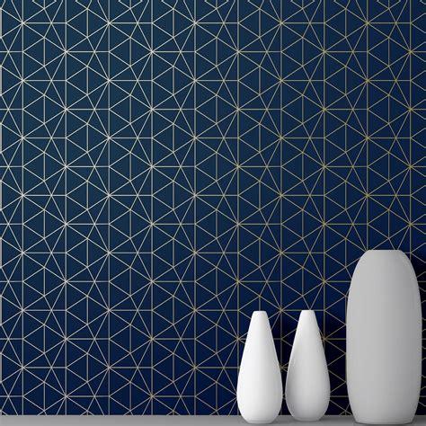 blue wallpaper ebay midnight dark navy blue wallpaper glitterati floral