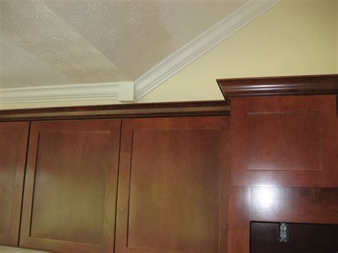 crown moulding for kitchen cabinets crown molding above kitchen cabinets images frompo 1