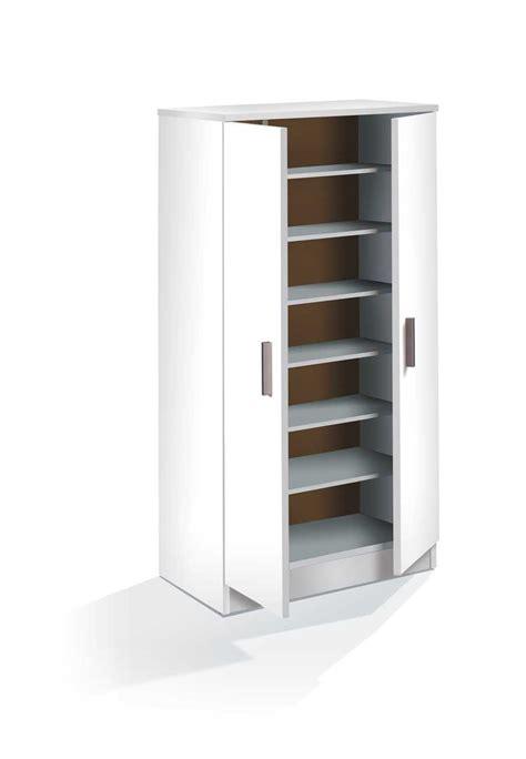 zapatero armario  puertas blanco
