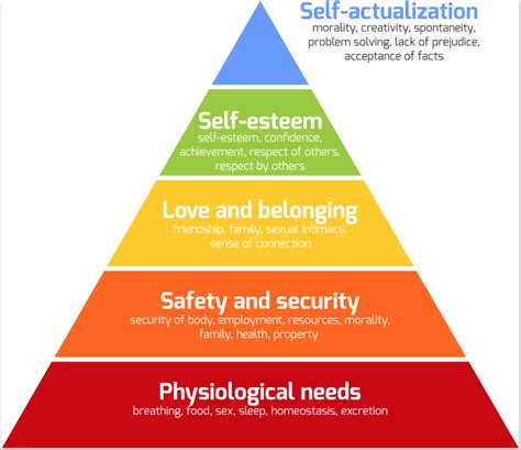 maslows hierarchy of human needs evidence based practices