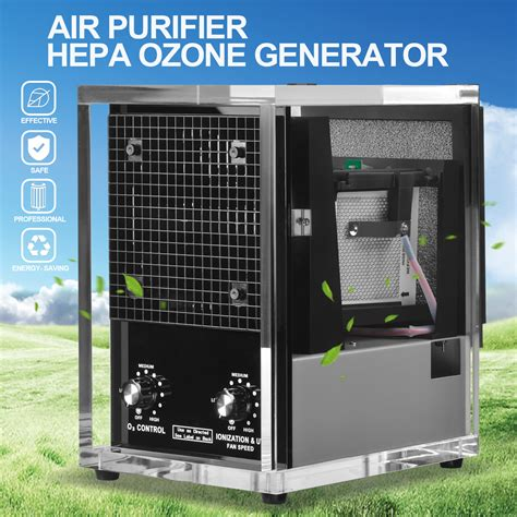 commercial  stage air purifier cleaner industrial hepa uv