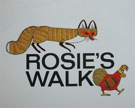 rosies walk rosie s walk literacy