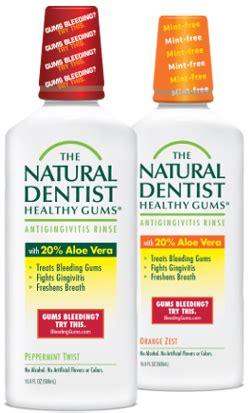 mouthwash  gingivitis bleeding gums alcohol