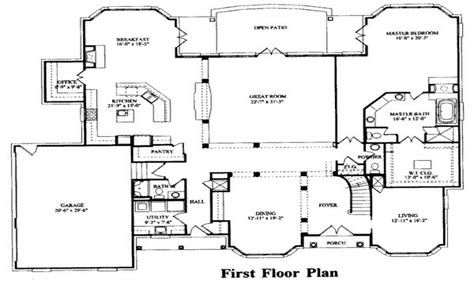Bedroom House Plans by 7 Bedroom House Plans 15 Bedroom House Floor Plans 7
