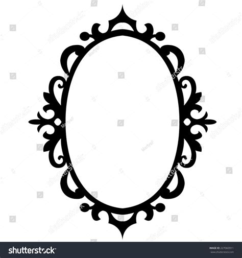oval template printable vector image gallery oval pattern