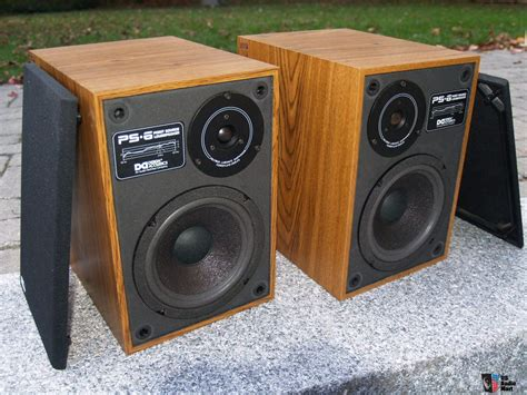 design acoustics ps 6a bookshelf speakers photo 1070332