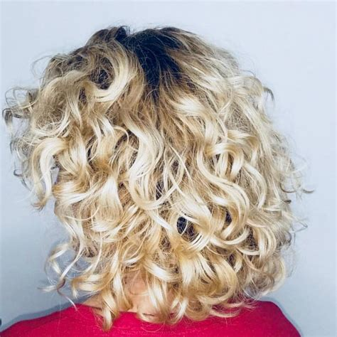 medium length curly layered hairstyles hairstyles