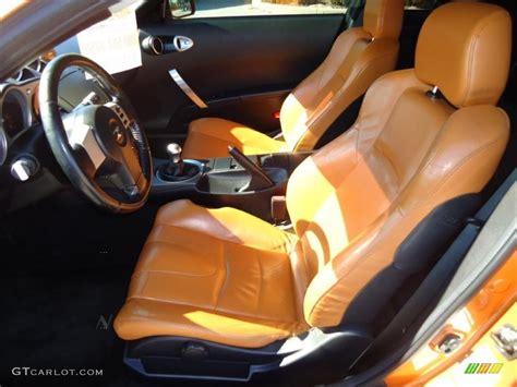 burnt orange leather interior 2006 nissan 350z touring coupe photo 41063587 gtcarlot com burnt orange carbon black interior 2003 nissan 350z