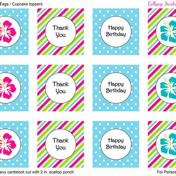 printable mini thank you cards hibiscus flower girls diy printable mini from sweetiegirl