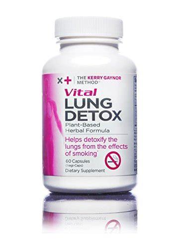 Ayurvedic Smokers Detox by The Kerry Gaynor Method Vital Lung Detox Plant Based