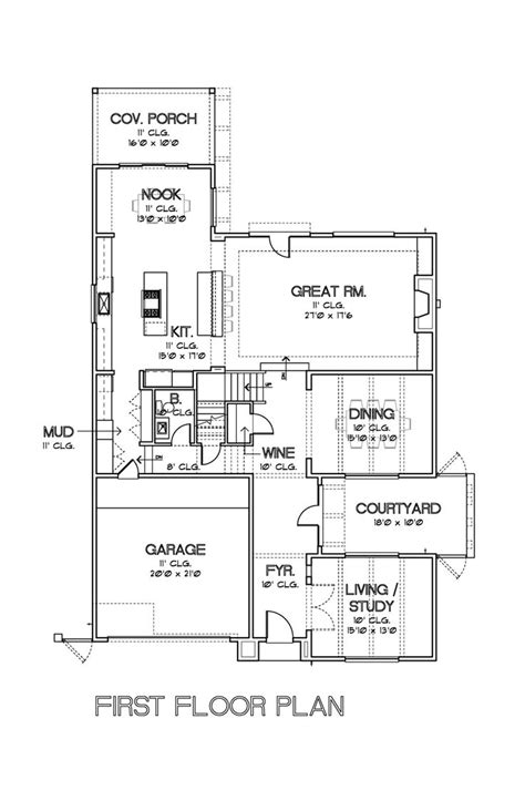 cox plans modern plan by david cox great floor plans pinterest