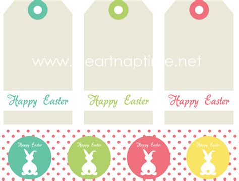 printable easter labels easter tag free printable i heart nap time