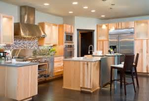 Kitchens With Light Cabinets by Sublime Dark Hardwood Floors With Light Cabinets