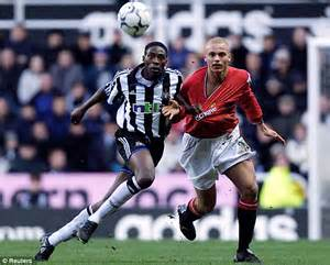 Slayer Manchester United 1402006 shola ameobi and sammy ameobi say newcastle want a local daily mail