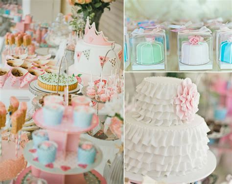 kara s party ideas vintage princess girl shabby chic 4th birthday party planning ideas