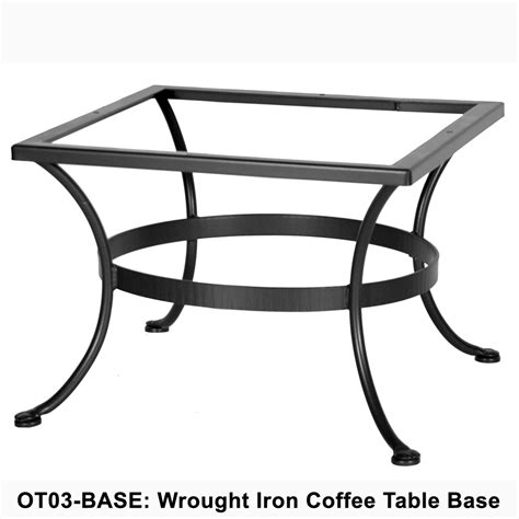 Wrought Iron Coffee Table Base Ow Standard Wrought Iron Coffee Table Base Ot03 Base