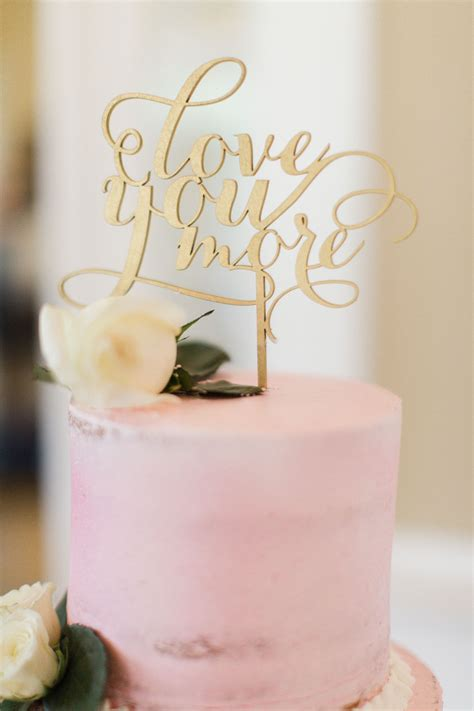 Cake Toppers by Gold You More Wedding Cake Topper