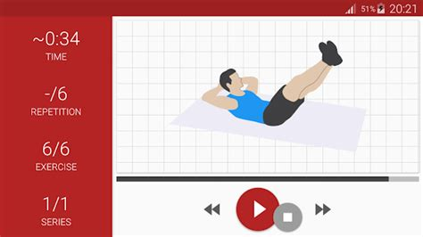 abs workout a6w in just 6 weeks android apps on play