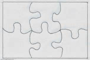 Puzzle Stencil Template daily messes for easter baskets