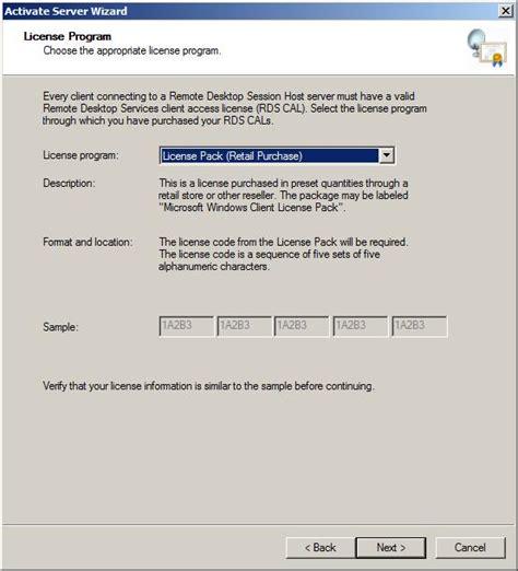 service license configuring a windows server 2008 r2 remote desktop services license server techotopia