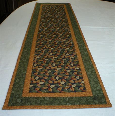 Handmade Table Runner - handmade quilted table runner