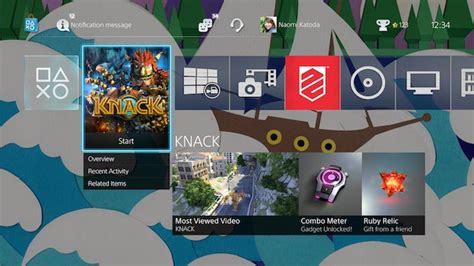 ps4 interface themes ps4 2 0 mp3s themes and better dashboard organization