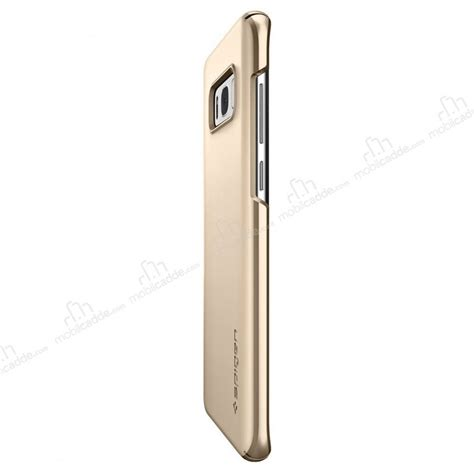Spigen Galaxy S8 Thin Fit Maple Gold spigen thin fit samsung galaxy s8 plus gold maple rubber